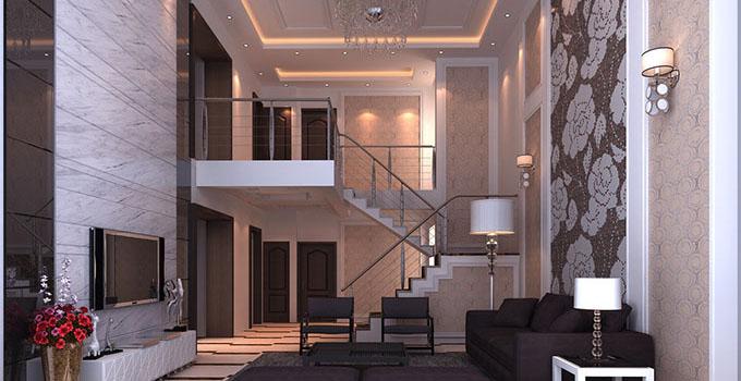 复式楼客厅设计,装出一个不一样的雅致客厅图片