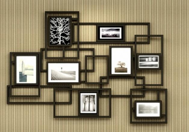 diy家居照片墙设计 扮靓你家的客厅背景墙