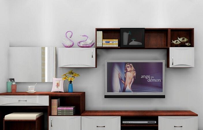 电视柜背景墙搭配攻略