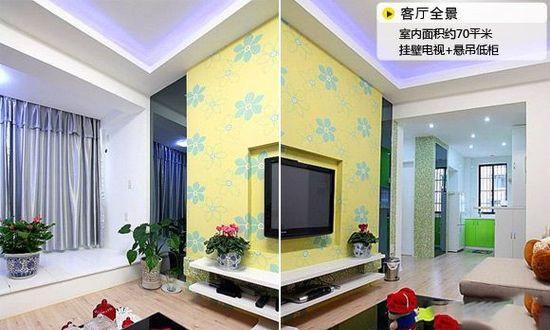 3招解决小户型电视背景墙设计难题