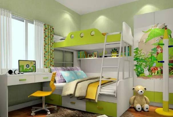 两个小孩的儿童房如何设计