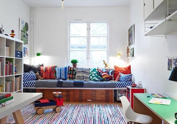简约风格客厅效果图 20平小空间的扩容技巧