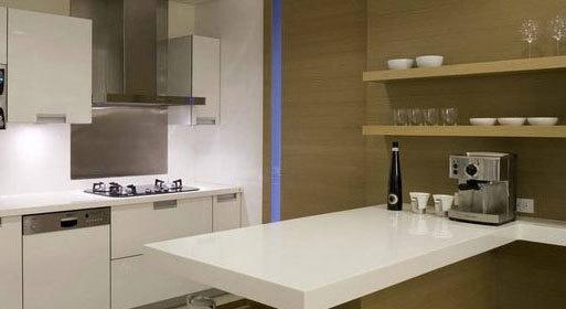 开放式厨房吧台效果图欣赏图片