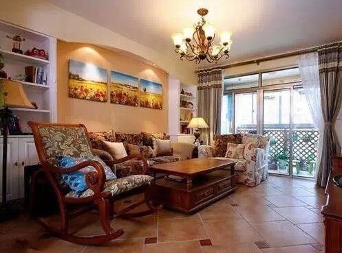 客厅瓷砖拼花好吗?阳台和客厅地砖效果图