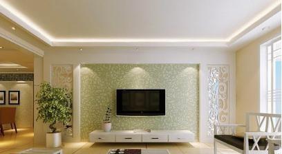 客厅电视墙装修设计效果图欣赏