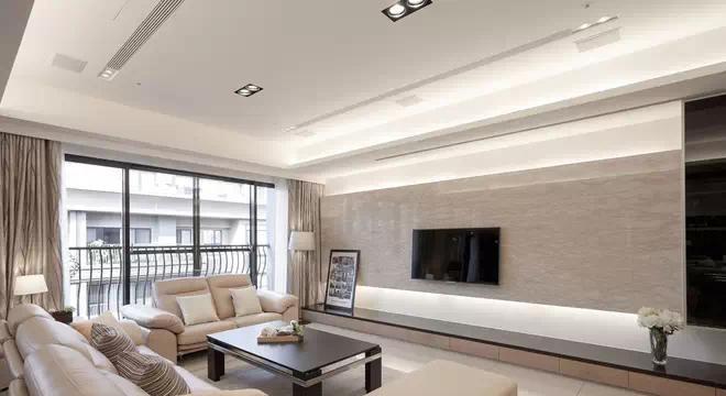 硅藻泥客厅电视背景墙效果图的优势