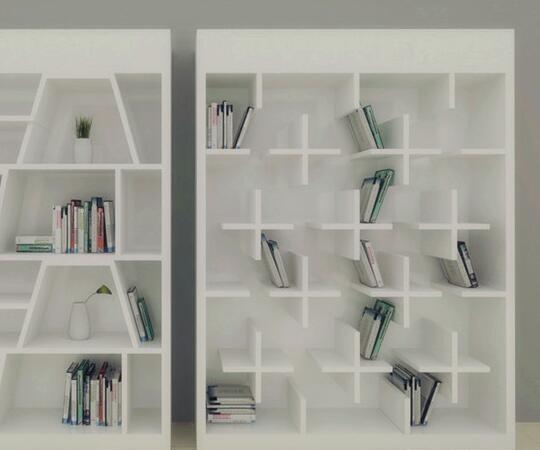 书柜款式有哪些?图片
