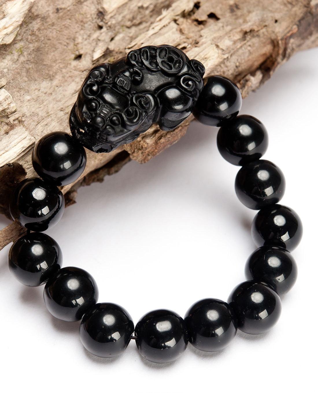 黑曜石消磁是为什么 黑曜石貔貅手链的戴法
