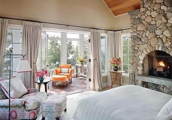 给卧室增加新元素,主卧阳台装修效果图欣赏