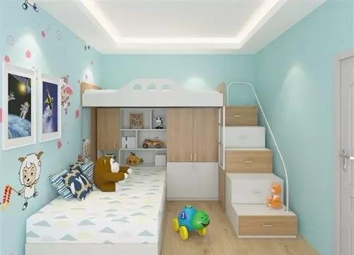 裝下寶貝整個童年的小戶型兒童房設計,空間瞬增n平方