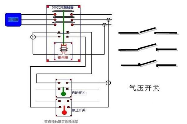 接触器接线图详解