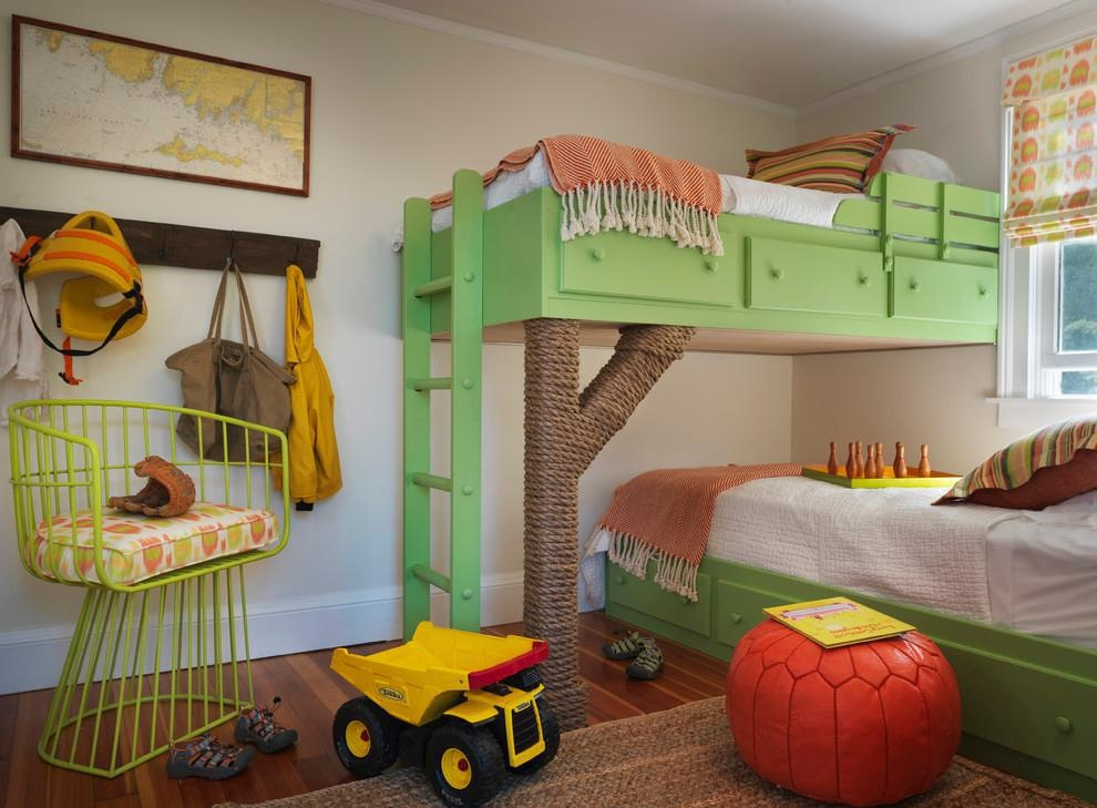 17款双胞胎儿童房设计