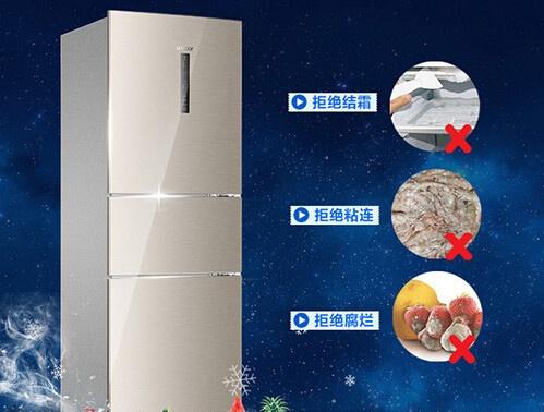 风冷冰箱最大的优点就是无霜.