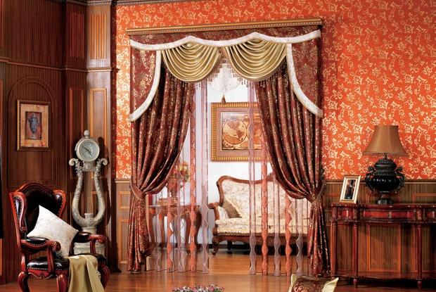 欧式窗帘图片展示 欧式窗帘效果图_装修鉴赏_搜狐焦点