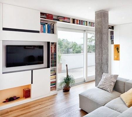 客厅柱子设计效果图