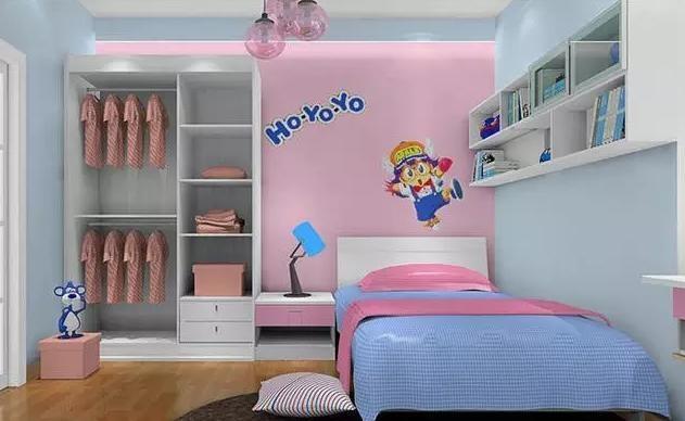 几款儿童房装修样板间 绝对颜值爆表啊!