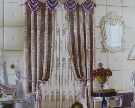 现代欧式风格窗帘装饰搭配介绍