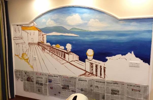 十款创意手绘墙图集 家居个性展现
