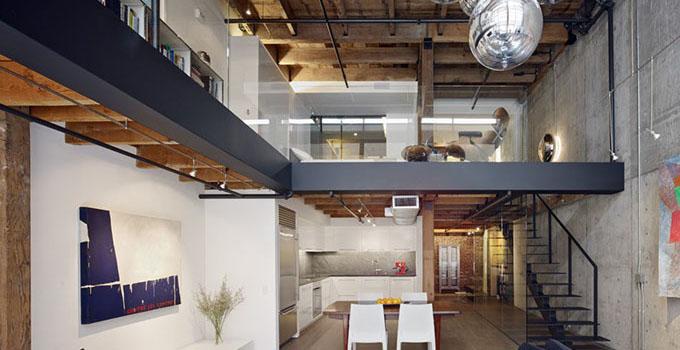 50平方loft装修效果图