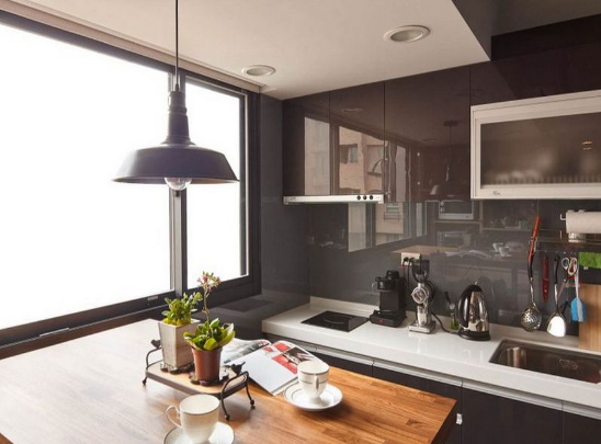 英伦工业复古风 开放式英式乡村风格公寓设计
