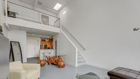 楼梯斜坡顶装修效果图