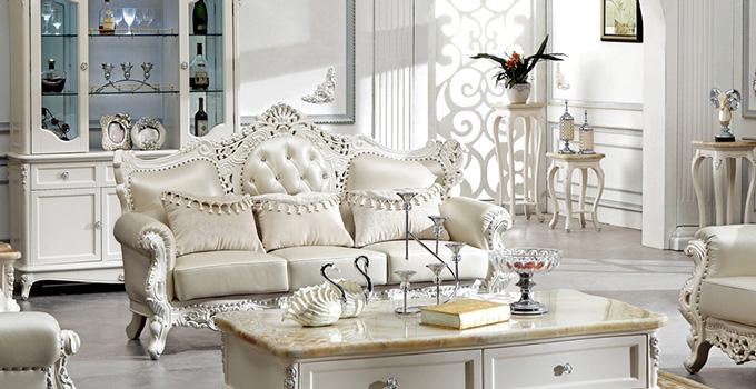 那么,如何保养白色欧式实木家具呢?