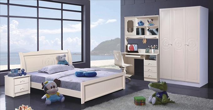 儿童书桌组合家具的优点有哪些?如何搭配?