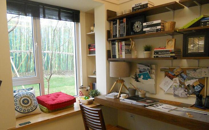 学会小户型书房装修设计方法 合理利用空间
