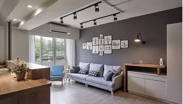 小户型客厅吊顶设计推荐