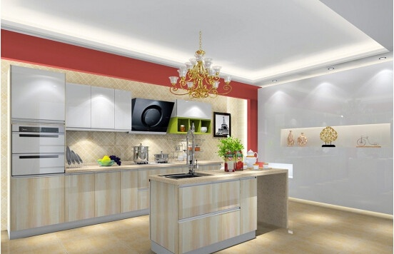 欧式开放式厨房吧台装修注意事项