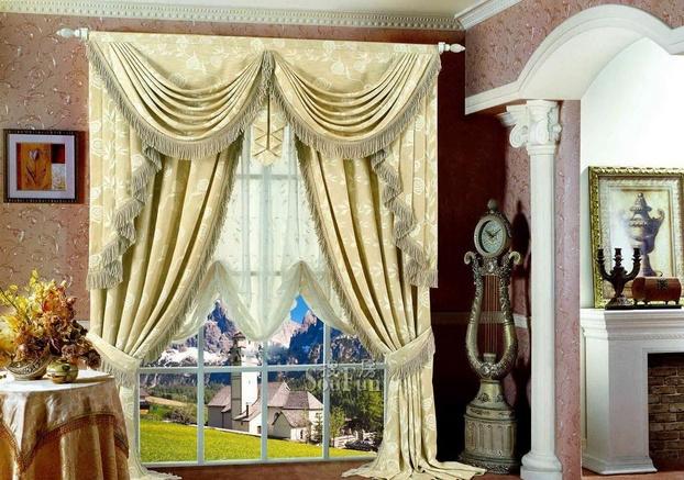 欧式风格窗帘选购搭配技巧