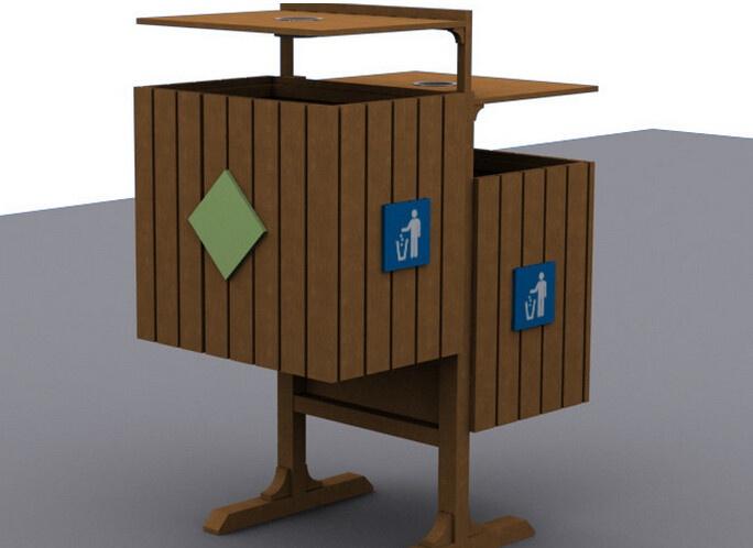 创意室内垃圾桶设计欣赏