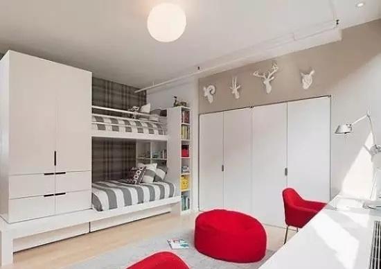 双层床卧室装修效果图
