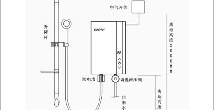 自己也能动手做林内燃气热水器安装,一学就会!图片