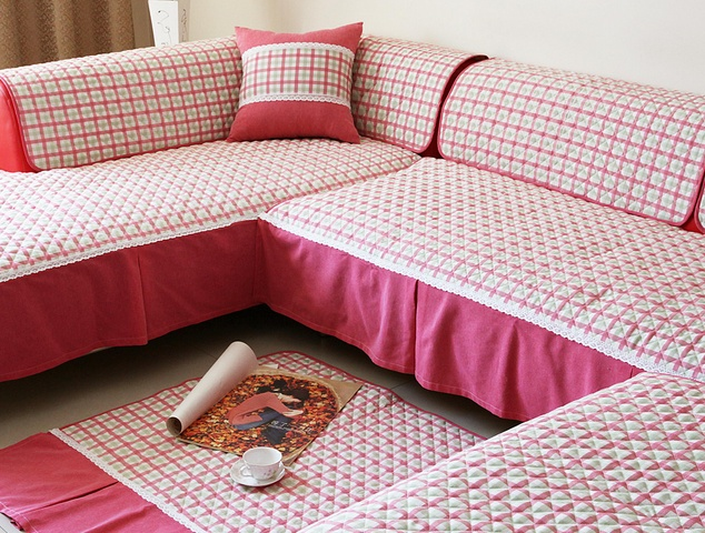 沙发罩的制作方法 亲自制造舒适环境