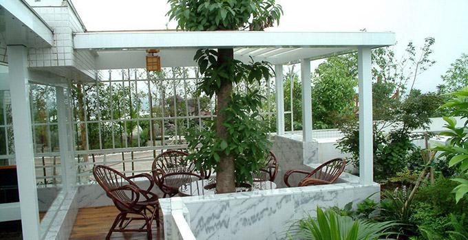 超高档住宅设计 阳台秒变空中花园图片