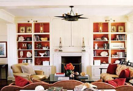 三种客厅兼做书房的设计方案