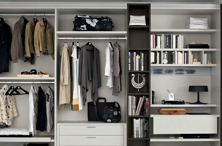 什么是开放式衣柜 开放式衣柜优缺点图片