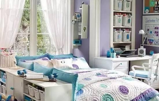 10款專門為少女設計的臥室裝修效果圖