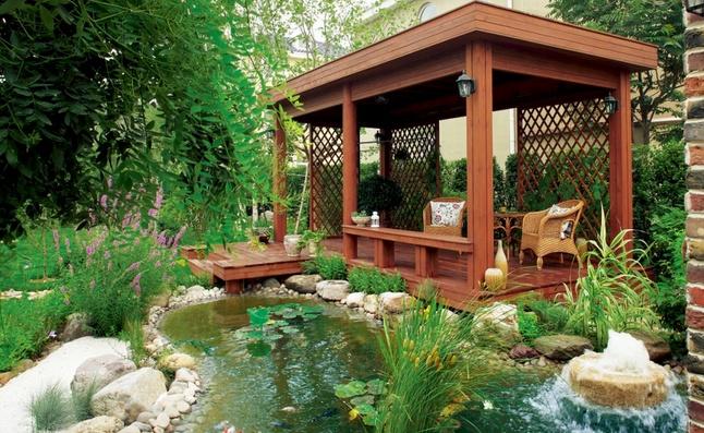 别墅庭院植物风水