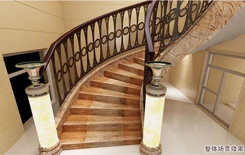 楼梯踏步砖铺贴及铺贴注意事项图片