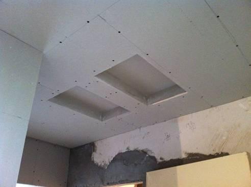 卫生间石膏板吊顶施工步骤及注意事项