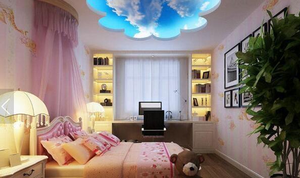 看儿童公主房图片 打造梦幻空间