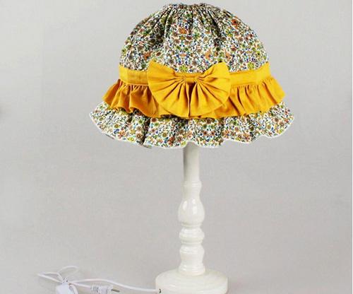 布艺灯罩制作小方法