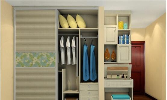 欧式儿童定制衣柜能够让孩童的衣服达到这样的效果.