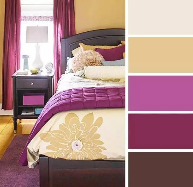 消费指导:20款卧室配色案例