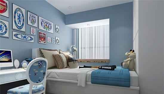 卧室室内设计技巧 简洁明快又实用图片