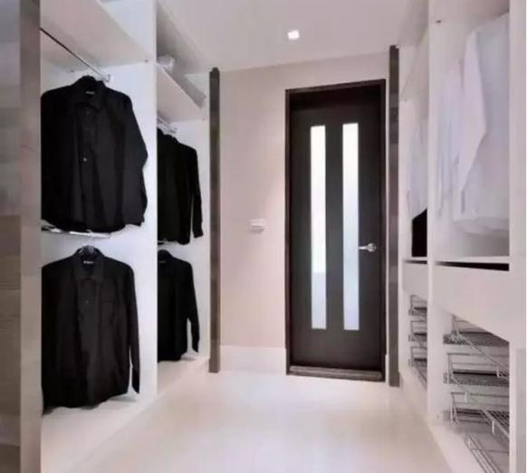 简欧式衣帽间 定制属于你的衣柜