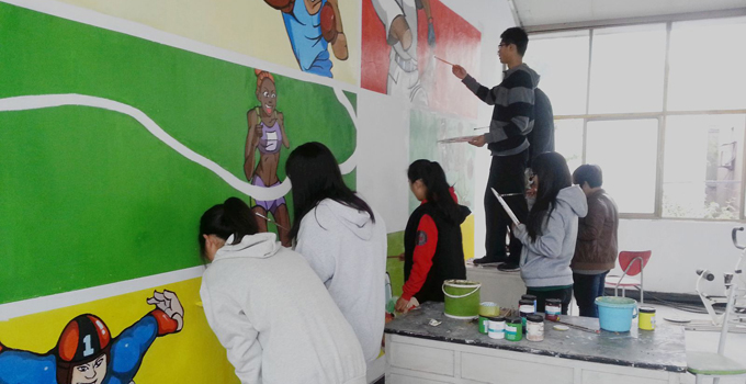 手绘涂鸦墙颜料及教程介绍
