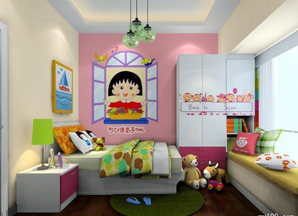卧室手绘墙色彩知识介绍